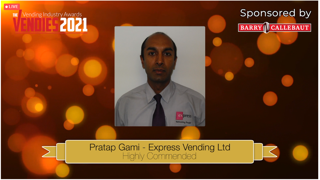 highly commended Pratap Gami